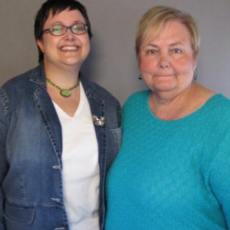 Nancy Stalzer and Kathy Kubik