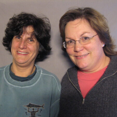 Laurie Foley and Susan Liebeskind