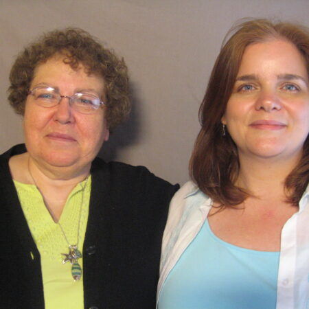 Annette Sirrico Talbot and Jennifer Sirrico