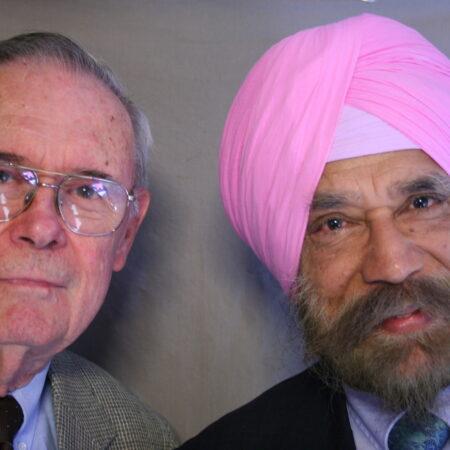 Kanwal Prakash Singh and Richard Hamilton
