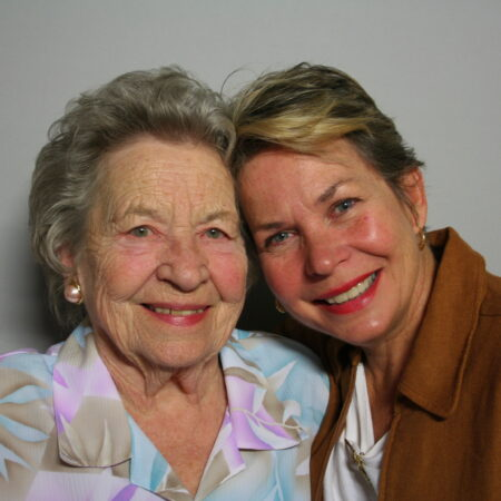 Marguerite Martin and Sarah McConnell