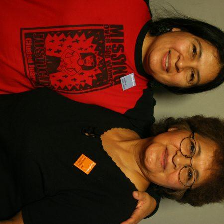 Margie Gomez and Tammy Gomez
