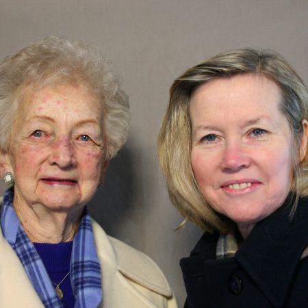 Catherine Amberg and Patricia Amberg-Blyskal