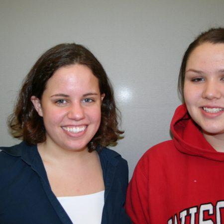 Vanessa Peters and Audrey Swanenberg