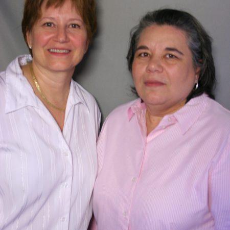 Paula Bendel and Rhonda Pupella