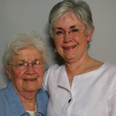 Theresa Hogan and Maureen Schlacter