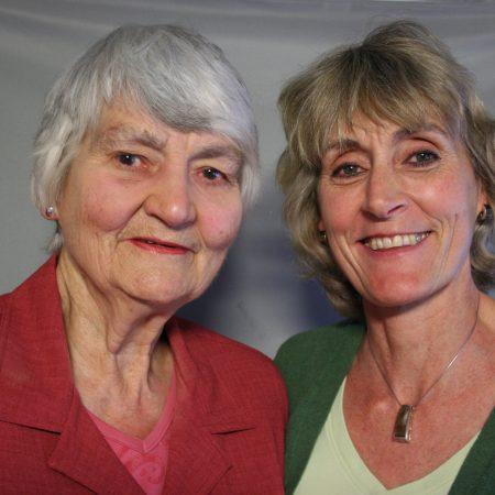 Joan Hession and Susan Fuchslin