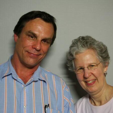 Larry Keyes and Martha O'Brien
