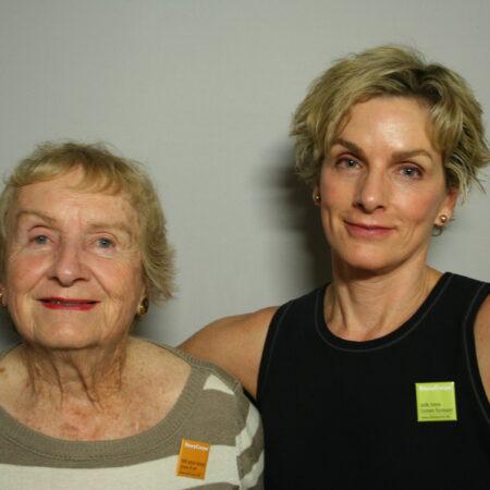 Sue Kimball and Jennifer Kimball