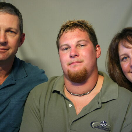 Stephen Arends, Bonnie Arends, and Randal Arends