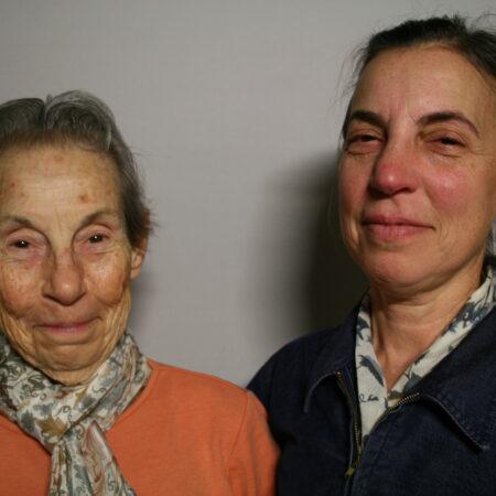 Joan Ruskin and Susan Steinhauer