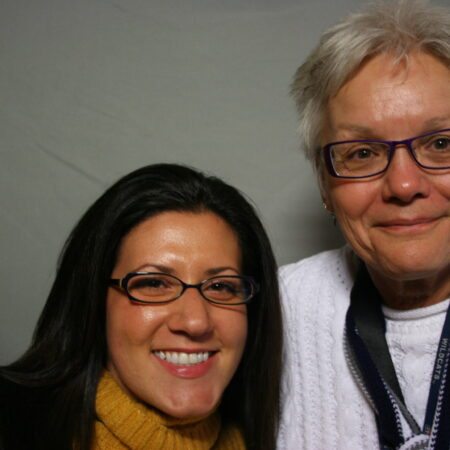 Amanda Kraus and Sue  Krueger