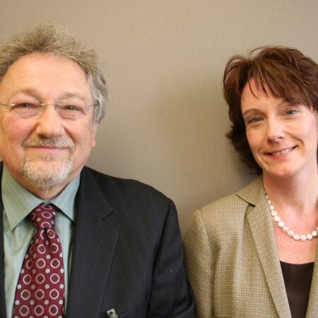 Paul Nussbaum and Connie Evans