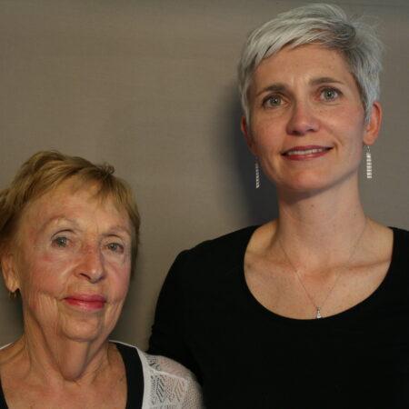 Louise Buchanan and Angela Morris