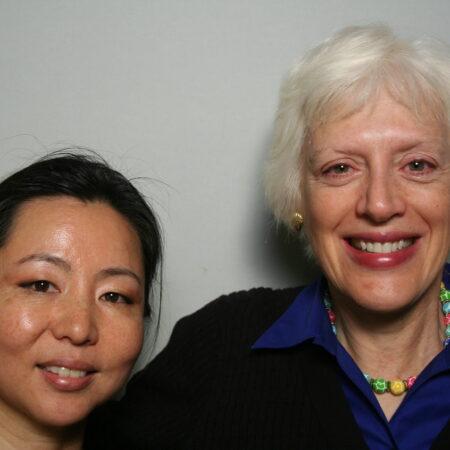 Anna Woo and Ann Lombardi