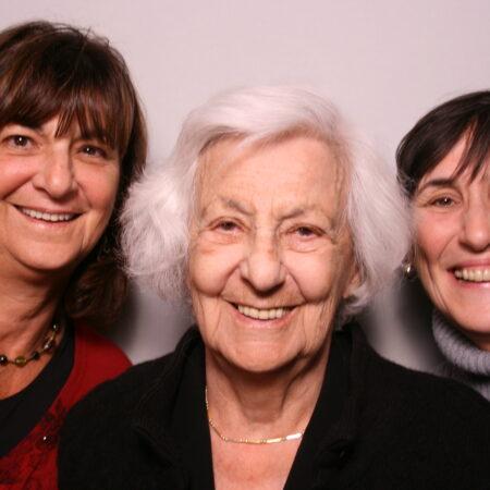 Esther Ressler, Adrienne Ressler, and Patty Ressler-Billion