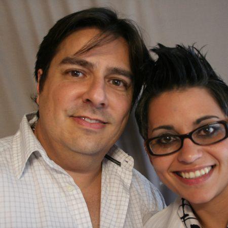 Vanessa Brito and Herb Sosa