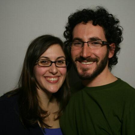 Erica Hymen and Adamn Arenstein