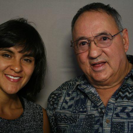 Patricio Baca and Lilly Sullivan