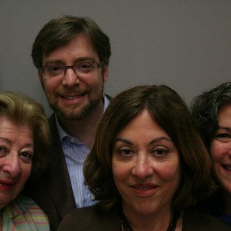 Deborah Taub, Cynthia Weinman, Erna Rubinfeld, and Stuart Rubinfeld