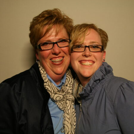 Suzanne Morrill and Katie Morrill