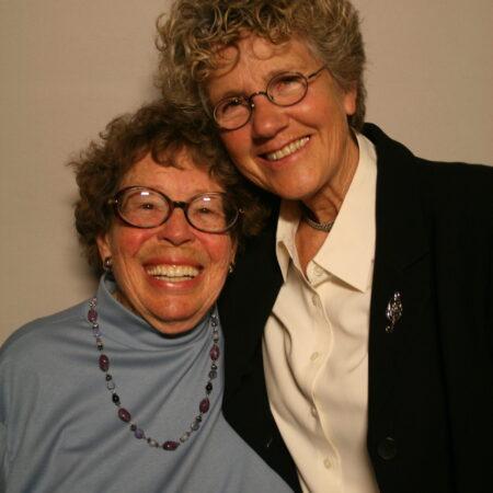 Phyllis Lyon and Margie Adam