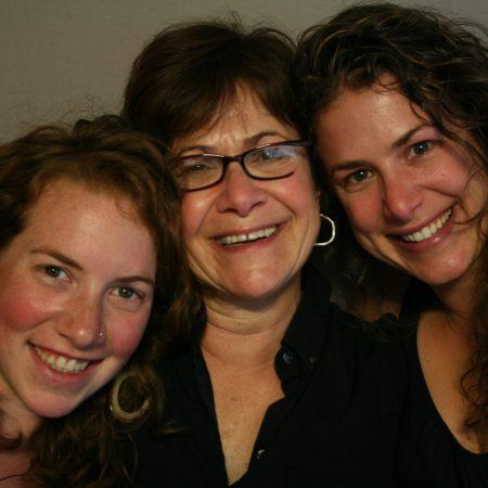 Susan  Moinester, Arielle Moinester, and Margot Moinester