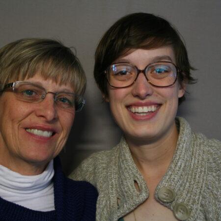 Bailey Schreier and Cindy Kern