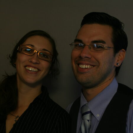 Christina Laufer and Ryan Nebeker