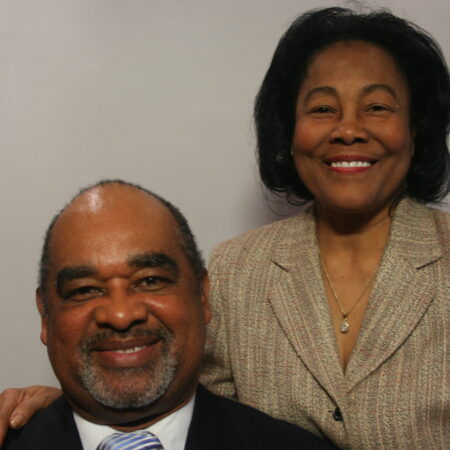 Barbara Huntley and Horace Huntley