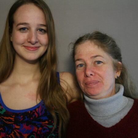 Adrienne Scott and Hannah Scott-Persson