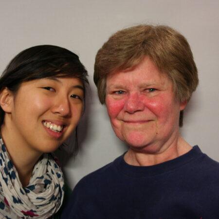 Barbara Altman and Jackie Sojico