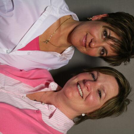 Mary Danahy and Claudine Raniolo