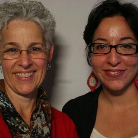 Deborah Ranniger and Virginia Lora