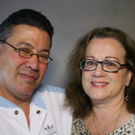 Clarissa Kirschenbaum and Gabriel Gonzalez