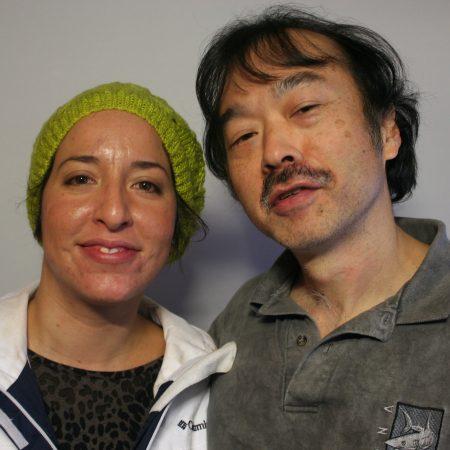 Guy Aoki and Virginia Lora