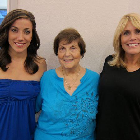 Diane Codde, Michelle Velez, and Kathryn Codde