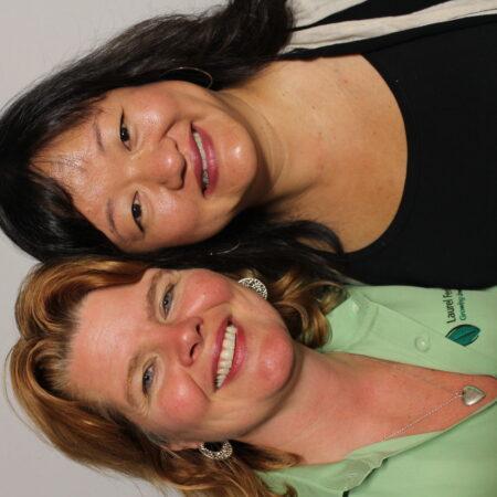 Maya Scott-Chung and Shirin Bridges