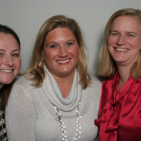 Lisa Dwyer, Sarah Batts, and Nicole Calandra
