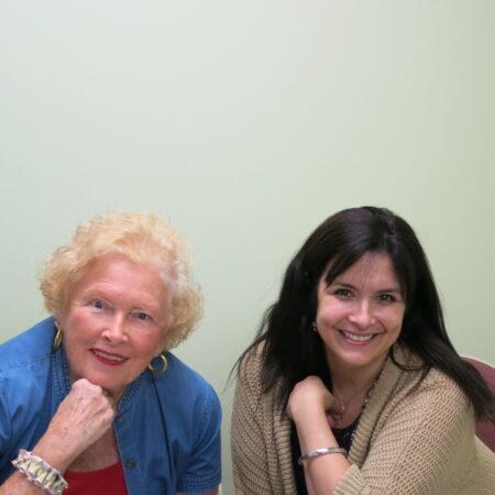 Mary Karol and Martha DiVittorio