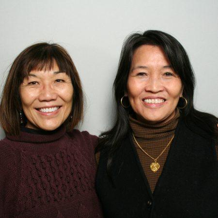Suzi Wong and Donna  Wong