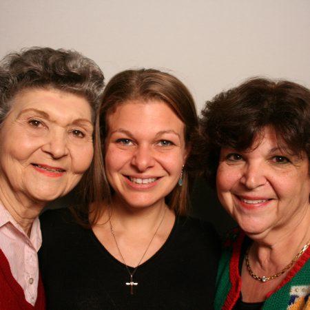 Madeline Oliveri, Constance Wendlek, and Christina Wendlek