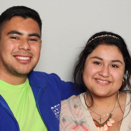 Diana  Martinez and Samuel Aguilar