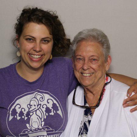 Dolores Nevitt and Victoria Golden