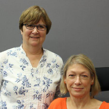 Janice Majewski and Beth Ziebarth