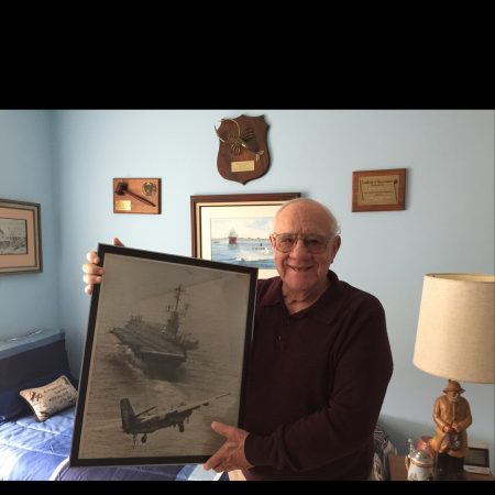 John Pinto reflects on his 25 years as a Navy pilot, his wonderful marriage (still strong at 58 years), & more.