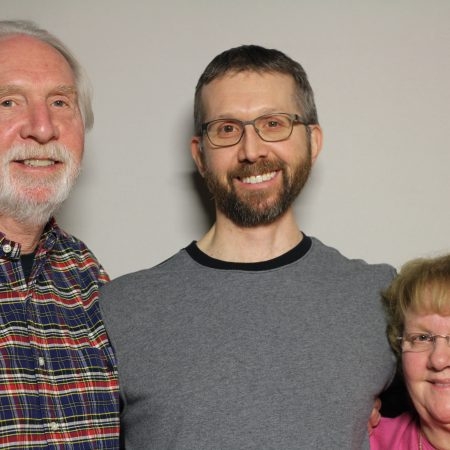 Jim Zimmerman, Carolyn Zimmerman, and Jasan Zimmerman