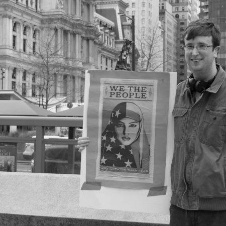 Philadelphia Trump Protest – Mason