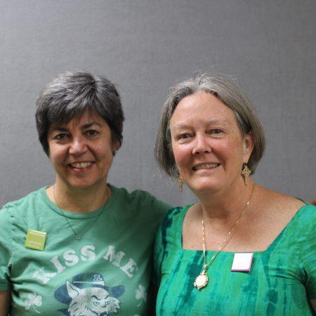 Carelle Karimimanesh and Lynn Engel
