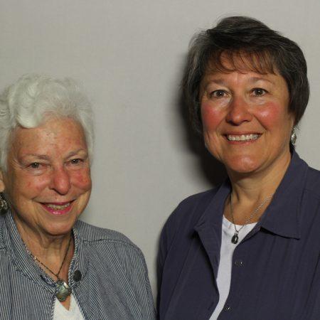 Nina Adams and Nancy Polacek